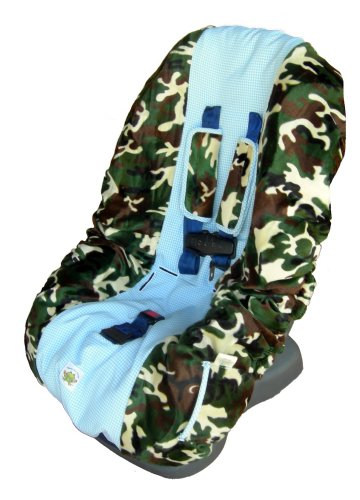 Camo Toddler Carseat Cover