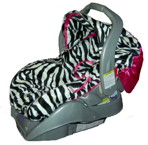 Zebra Infant Carseat Cover